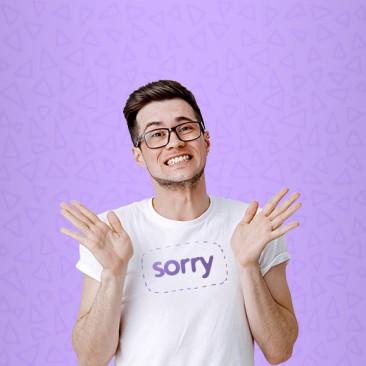 6 formas diferentes de se desculpar em inglês!