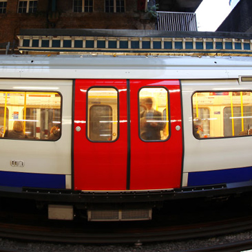 Take the Tube. Mind the gap!