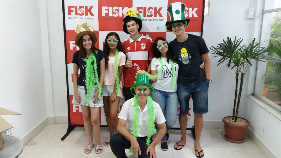 Semana Saint Patrick´s Day - Fisk Caçapava e Fisk Taubaté