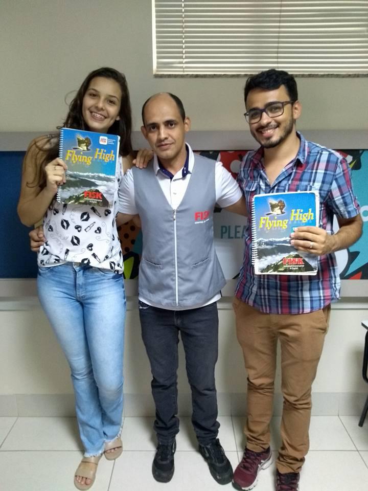 Fisk Itapuranga/GO - Recepção dos alunos