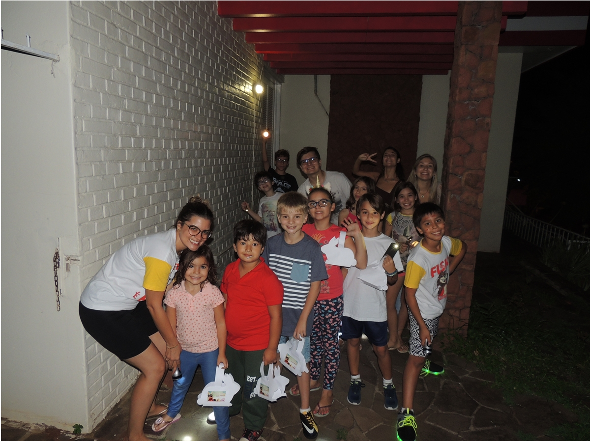 Fisk Cachoeira do Sul - RS - Pajama Party and Easter Egg Hunt