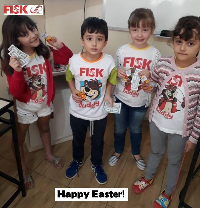 FISK CONSELHEIRO LAFAIETE/ MG - HAPPY EASTER