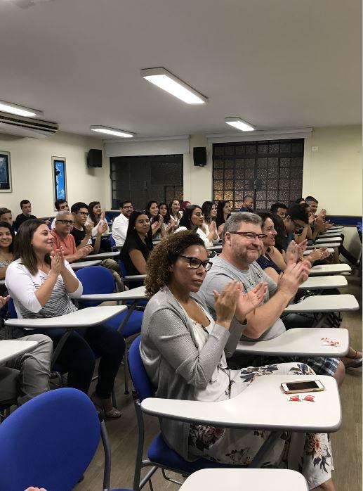 Fisk São Bernardo do Campo/SP - Entrega de Certificados dos alunos de SBC - Nova Petrópolis