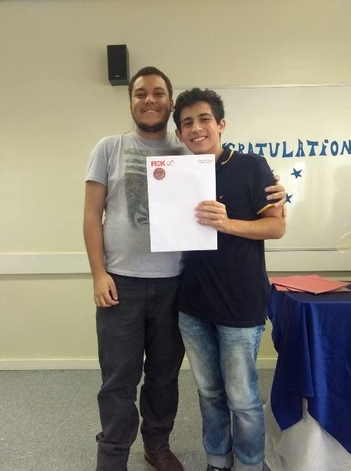 Unidade Fisk Saúde/SP - Entrega de diplomas