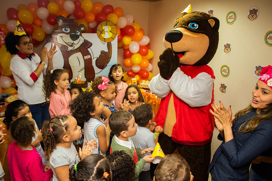 Fisk Salvador (Shopping Bela Vista)/BA – Aniversário do Buddy