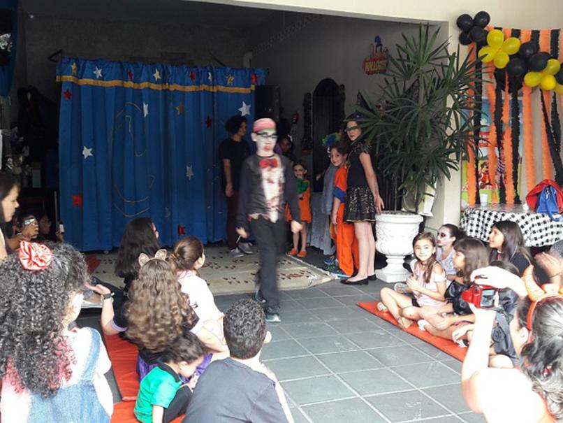 Fisk Vila Maria/SP - Halloween