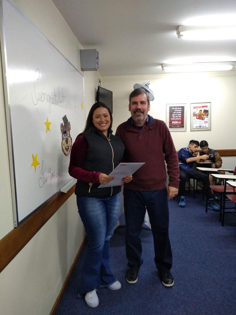 FISK SÃO PAULO (ITAQUERA)/SP - Entrega Certificados Conclusão de Curso.