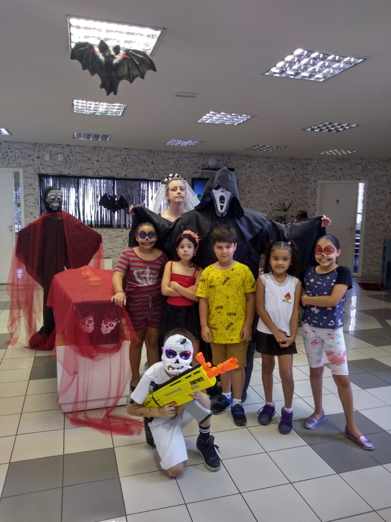 Fisk Freguesia do Ó/SP - Halloween Fisk Freguesia do Ó