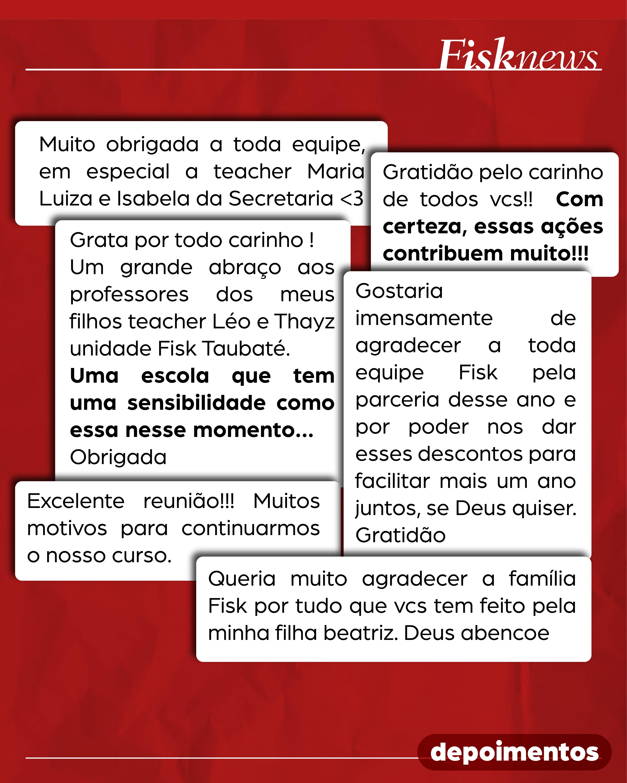 Fisk Caçapava e Taubaté/SP - 250+ PARTICIPANTES NA REUNIÃO DE FAMÍLIA