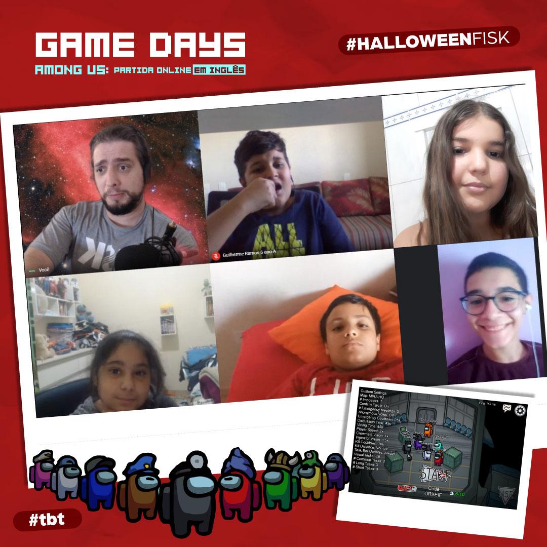 Fisk Caçapava e Taubaté/SP -  Game Days: Among Us