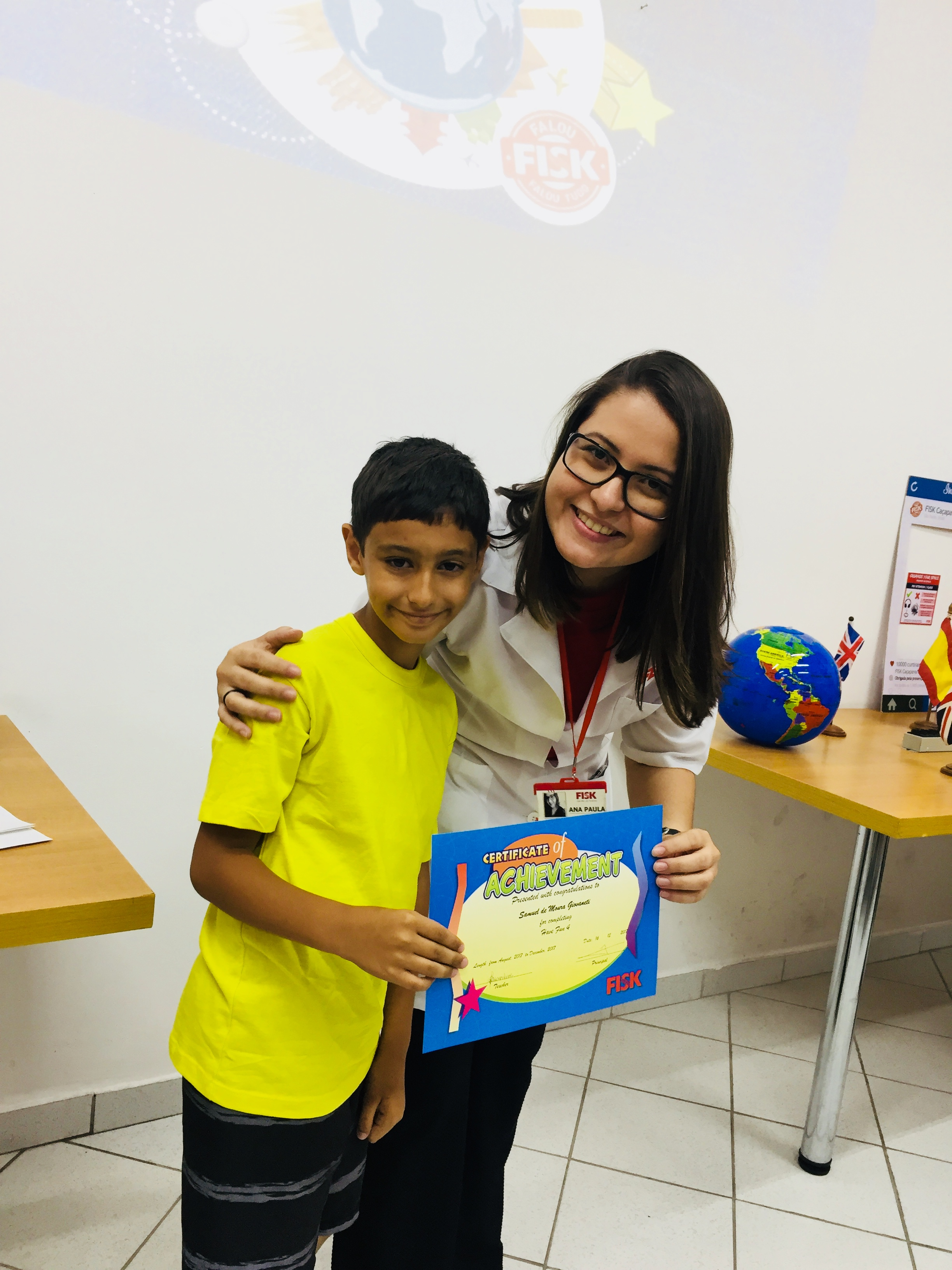 Fisk Taubaté (Centro)/SP - Formatura Kids