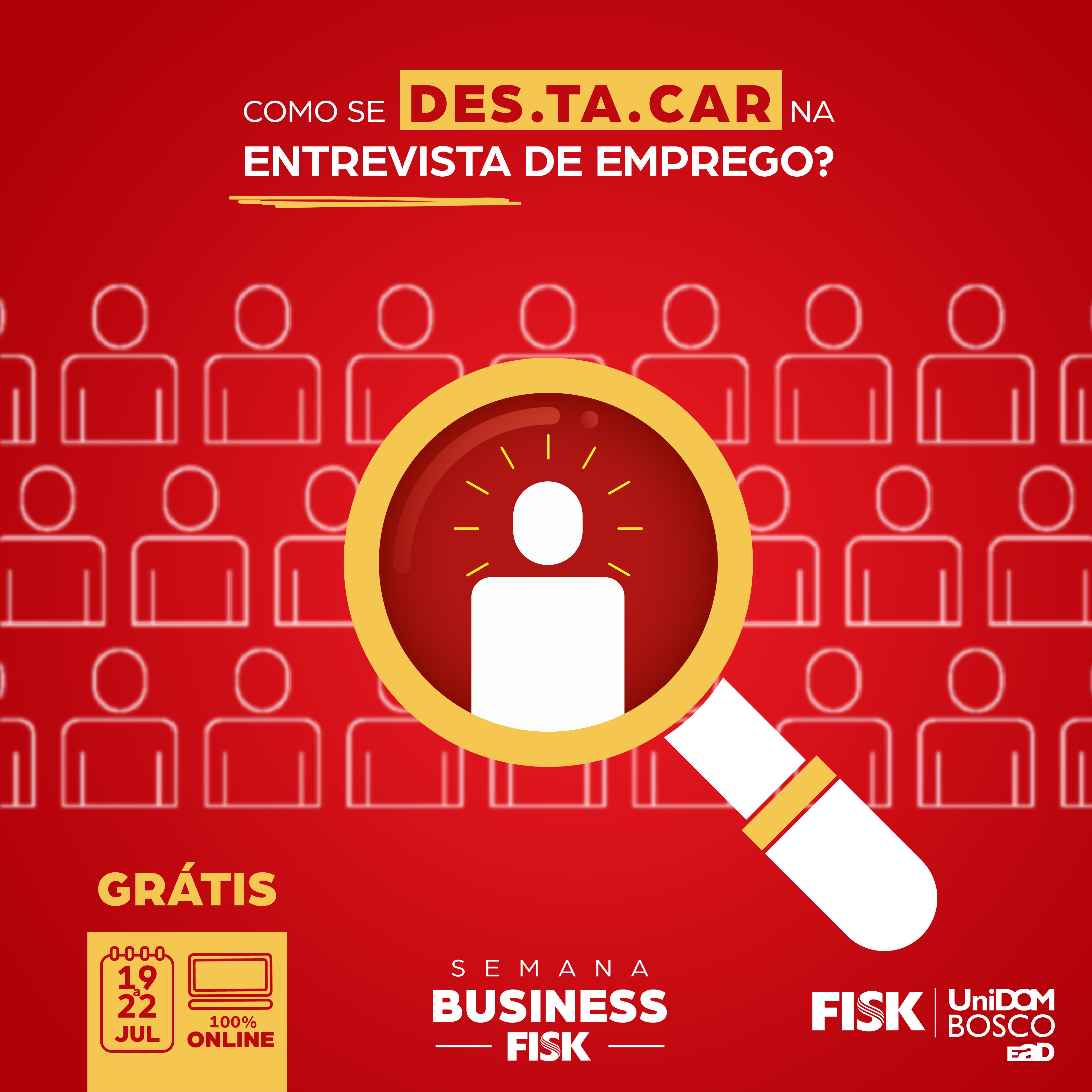 Fisk Caçapava e Taubaté/ SP - Semana Business