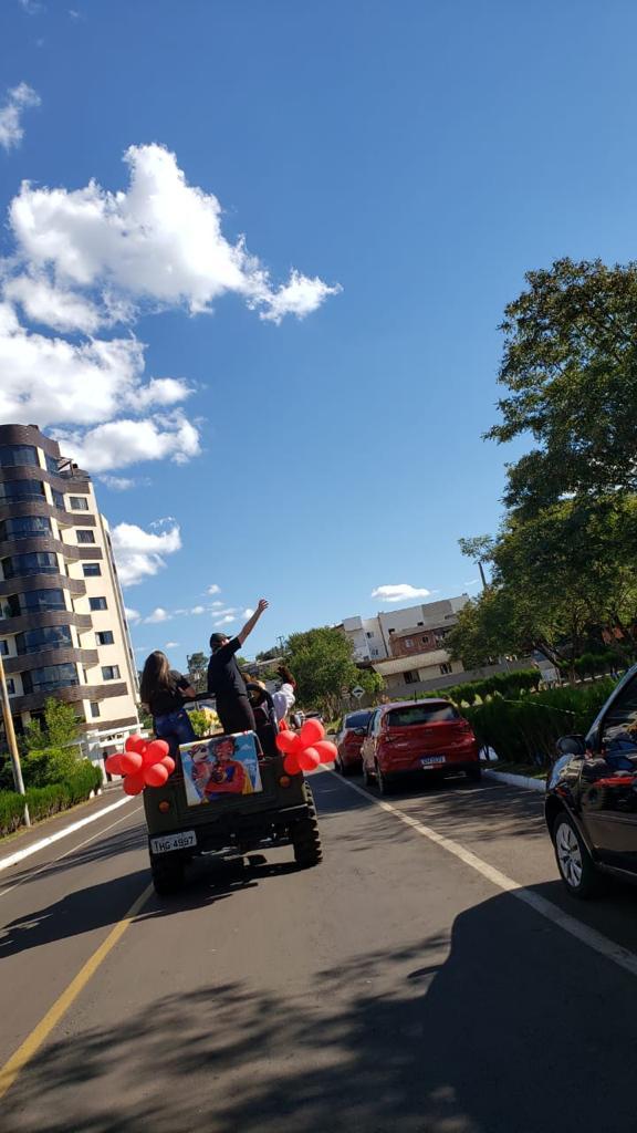 Fisk Francisco Beltrão/PR - Carreata do Buddy na cidade