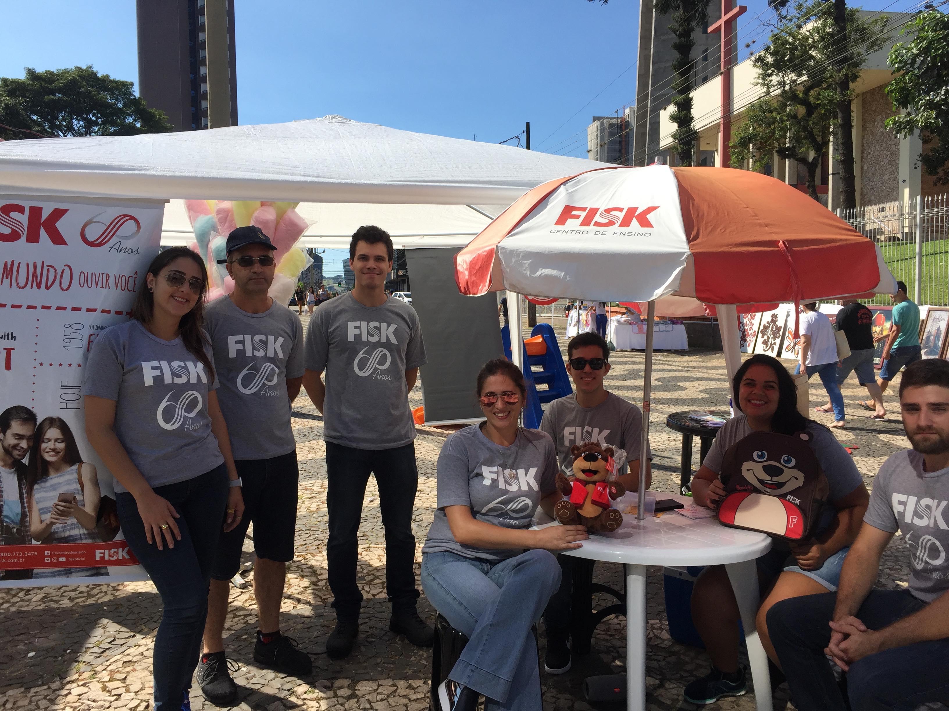 Fisk Francisco Beltrão/PR - Divulgação na praça