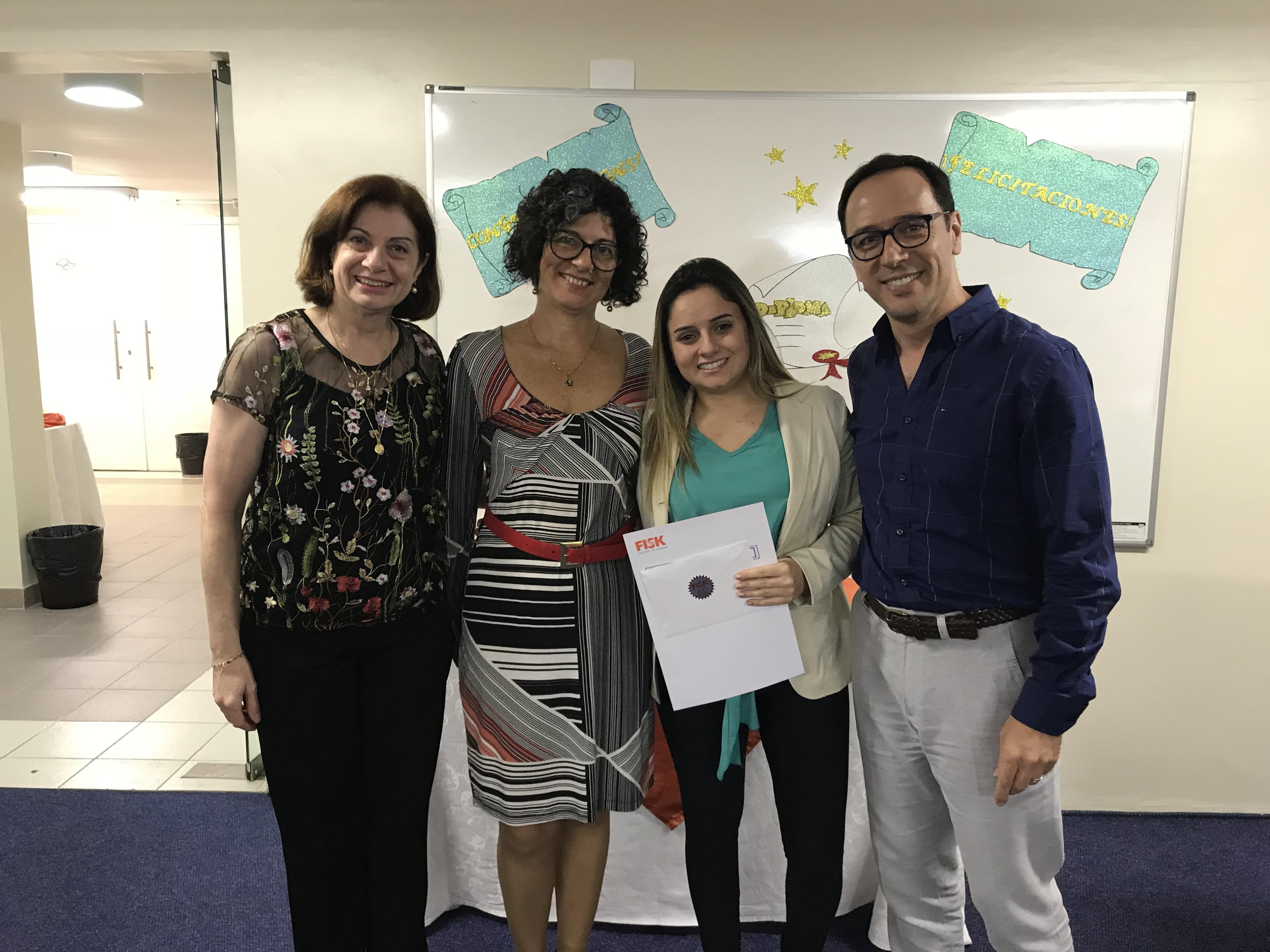 Fisk Santo André 4/SP - Entrega de certificados