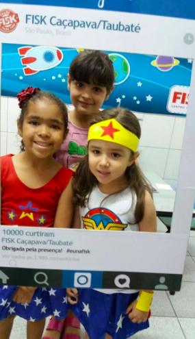 Fisk Caçapava e Taubaté - Semana da criança